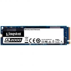 SSD 1TB KINGSTON A2000 (SA2000M8/1000G), M.2 2280, NVMe, 3D NAND