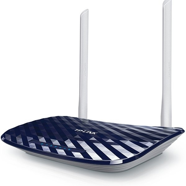 Рутер TP-LINK AC750 Dual Band Wireless Router, Mediatek, 433Mbps at 5GHz + 300Mbps at 2.4GHz, 802.11ac/a/b/g/n,1 10/100M WAN + 4 10/100M LAN, Wireless On/Off, 1 USB 2.0 port, 2 fixed antennas