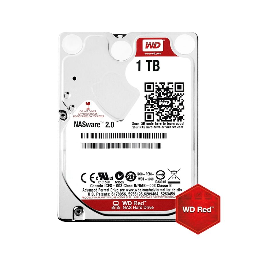 HDD 1TB WD Red 2.5