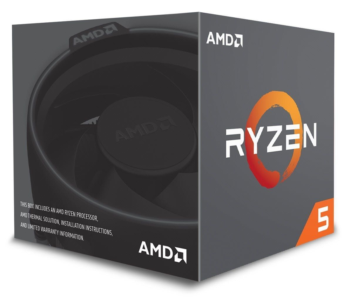 AMD CPU Desktop Ryzen 5 6C/12T 2600 (3.9GHz,19MB,65W,AM4) box, with Wraith Stealth cooler