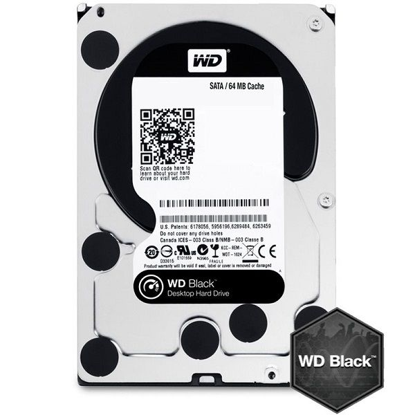 HDD 500GB WD Black (WD5003AZEX), 3.5