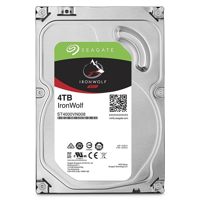 HDD 4TB SEAGATE Iron Wolf Guardian (ST4000VN008), 3.5