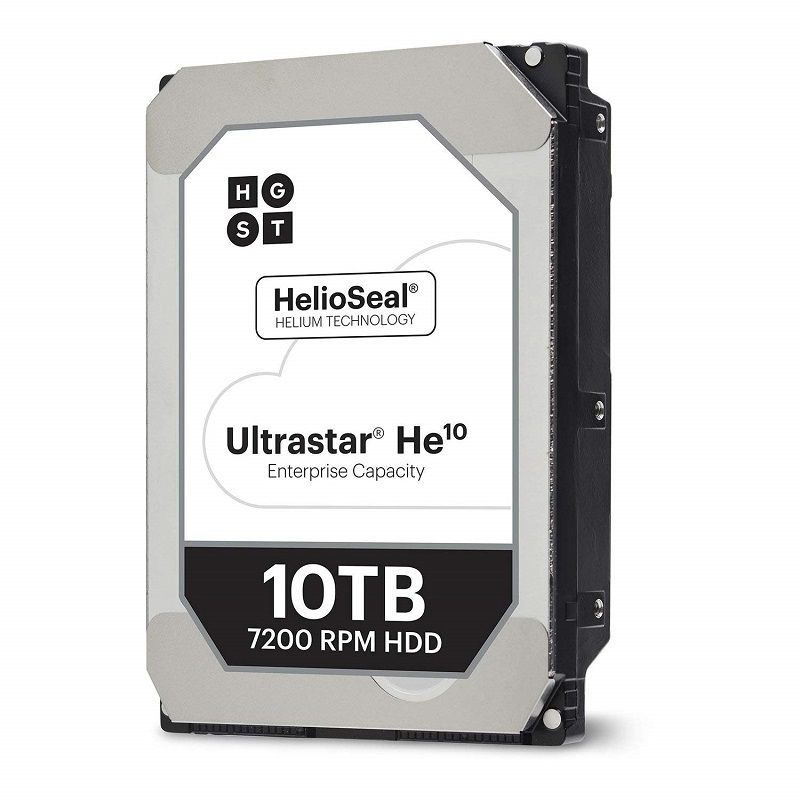 HDD Server HGST Ultrastar HE10 (3.5'', 10TB, 256MB, 7200 RPM, SATA 6Gb/s, 512E SE) SKU: 0F27454
