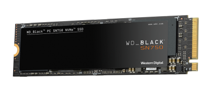 SSD WD Black SN750 250GB PCIe Gen3 8Gb/s for Gaming, NVMe (PCIe Slot) M.2 2280 3D NAND, read-write: up to 3100MBs, 1600MBs (5 years warranty)