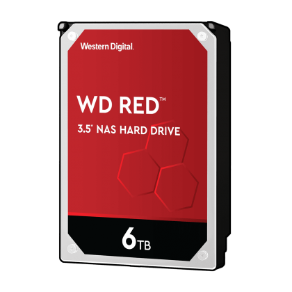 HDD 6TB WD Red (WD60EFAX), 3.5