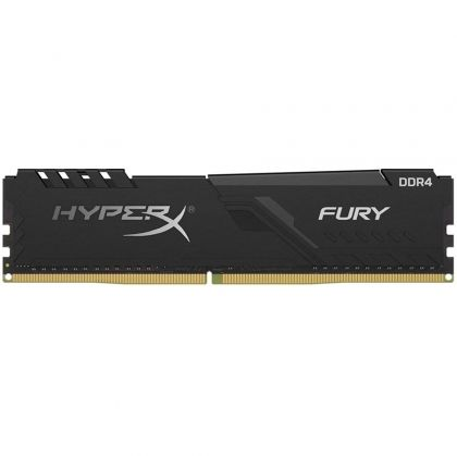 Памет Kingston 8GB DDR4 2666MHz CL16 DIMM 1Rx8 HyperX FURY Black