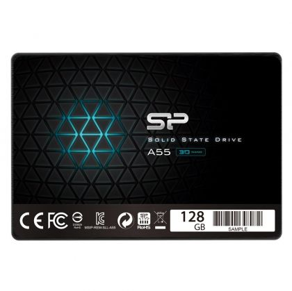 SSD 128GB SILICON POWER Ace A55 (SP128GBSS3A55S25), 2.5