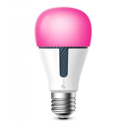 Управляема крушка TP-Link KL130, LED, WiFi, Multicolor, A+, E27, 2500K-9000K, 800lm