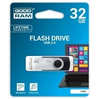 USB памет 32GB GOODRAM UTS2, USB 2.0, Черен
