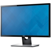 "Монитор Dell SE2416H / 23.8"" IPS/ FullHD (1920x1080)/ 16:9/ 1000:1/ 250 cd/m2/ 6 ms/ 178°/178°/ tilt-adjust./ VGA/ HDMI/ Черен-Сребрист"