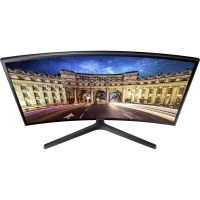 "Монитор Samsung C27FG396F / 27"" VA Curved / Full HD (1920x1080) / 250cd/m2 / 3000:1/ 4ms / 178°/178°/ D-SUB/ HDMI/  Черен"