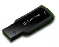 USB памет 16GB Transcend JetFlash 360 Hi-Speed USB 2.0, Зелен