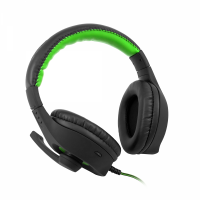 Геймърски слушалки C-TECH NEMESIS V2 GHS-14R, Gaming headset with upholstery, braided cable, leather bridge