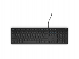 Клавиатура Dell KB216 - USB, С кабел,  Bulgarian (QWERTY) - Black