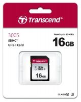 Памет Transcend 16GB SDHC I, UHS-I U1, read-write: up to 95MBs, 45MBs