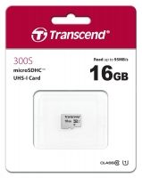 Памет Transcend 16GB microSDHC I, Class 10, U1 UHS-I (No Adapter), read: up to 95MBs, 45MB/s