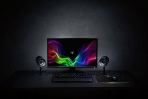 Nommo Chroma, Full range 2.0 gaming speakers for PC, Chroma Lightning, Custom woven glass fiber 3-inch drivers for power and clarity, Rear-facing bass ports for powerful lows, Versatile controls for gaming, music and movies