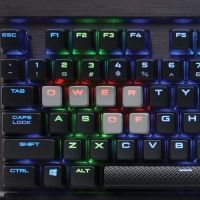 Клавиатура Corsair Gaming™ K65 RGB RAPIDFIRE Compact Mechanical Keyboard, Backlit RGB LED, Cherry MX RGB Speed (US)