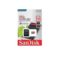 SanDisk Ultra Android microSDXC 200GB + SD Adapter + Memory Zone App 100MB/s A1 Class 10 UHS-I; EAN: 619659162078