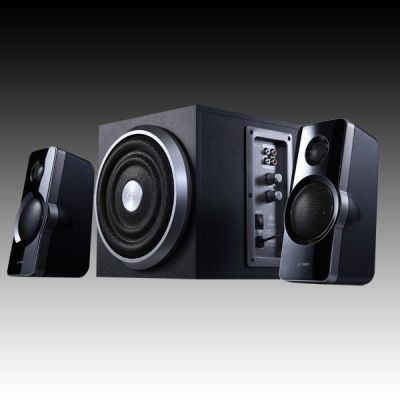 Тонколони FENDA A320 , 2.1 , 41W, 120Hz-20kHz, Subwoofer: 30Hz-130Hz, Черен
