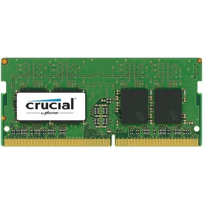 Памет Crucial 8GB DDR4 2666 MHz (PC4-21300) CL19 SR x8 Unbuffered SODIMM 260pin