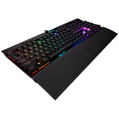 Клавиатура Corsair Gaming™ K70 RGB MK.2 Low Profile RAPIDFIRE Mechanical Gaming Keyboard, Cherry MX Low Profile Speed (US)