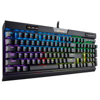 Клавиатура Corsair Gaming™ K70 RGB MK.2 RAPIDFIRE Mechanical Gaming Keyboard, Backlit RGB LED, Cherry MX Speed (US), Черна