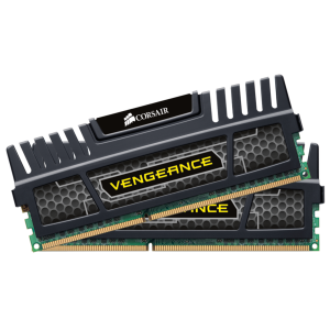 Памет Corsair DDR3, 1600MHz 8GB (2 x 4GB) 240 Dimm, Unbuffered, 9-9-9-24, Vengeance Heatspreader, Core i7, Core i5 and Core 2/AMD Phenom II - Dual Channel, 1.5V