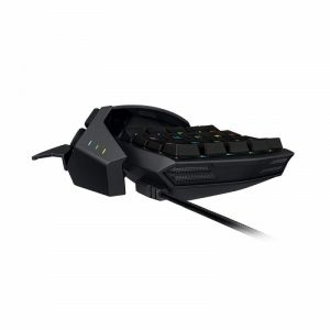 Геймърска клавиатура Razer Orbweaver Chroma (RZ07-01440100-R3M1) - Elite RGB Mechanical, Mechanical Switches, 30 fully programmable keys, Chroma backlighting, Black