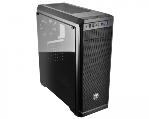 Chassis COUGAR MX330-G Mid-Tower, Mini-ITX/Micro-ATX/ATX, Max. Graphics Card Length-350mm/12.8 (Inch), Max. CPU Cooler Height-155mm/6.1 (Inch), CM, Tempered Glass, USB3.0x2/USB2.0 x2/Micx1/Audio x1, Water cooling support