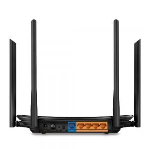 Рутер TP-Link Archer C6 , AC1200 Dual-Band, 1200Mbps (867Mbps at 5GHz + 300Mbps at 2.4GHz), MU-MIMO,