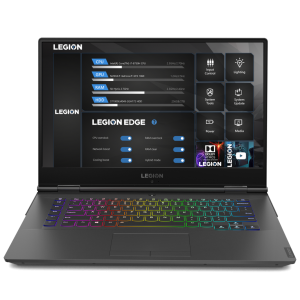 "Лаптоп Lenovo Legion Y740 (81UH002MBM), Intel® Core™ i7-9750H (12M Cache, 2.60 GHz up to 4.50 GHz, 6 Cores), 15.6"" FullHD (1920x1080) HDR IPS 144Hz, Nvidia GeForce RTX 2060 6GB GDDR6, 16GB DDR4, 512GB SSD m.2 PCIe, RGB Backlit KBD + RGB strip, DOS, Black"