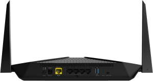 Рутер Netgear RAX40 (RAX40-100PES), 4PT AX3000 (600 + 2400 Mbps) Nighthawk AX4/4 Stream, Dual Band WiFi AX, MU-MIMO, Gigabit Router with USB