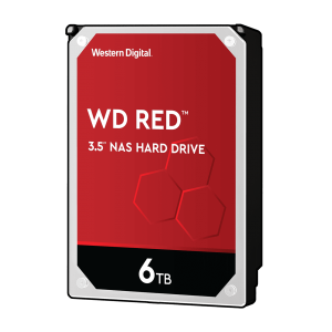 "HDD 6TB WD Red (WD60EFAX), 3.5"", SATAIII, 5400 rpm, 256MB, for NAS"