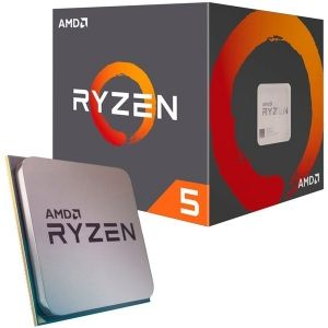 Процесор AMD Ryzen 5 1600 (3.20 GHz up to 3.60 GHz, 19MB Cache, 6 ядра, AM4) box, with Wraith Stealth cooler