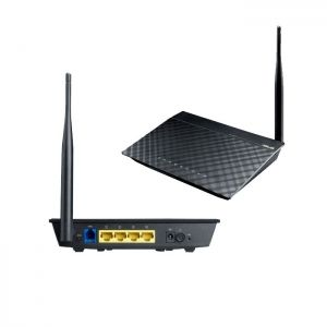 Рутер ASUS DSL-N10E, Wireless-N150 ADSL Modem Router