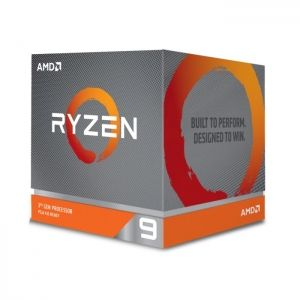 Процесор AMD Ryzen 9 3900X (3.80 GHz up to 4.60 GHz, 70MB Cache, 12 ядра, AM4) box with Wraith Prism cooler