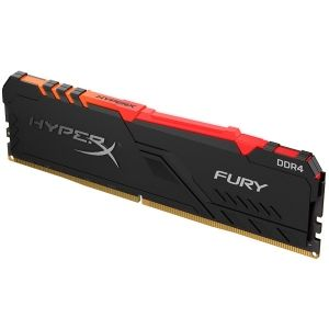 Памет Kingston 8GB DDR4 3000MHz CL15 DIMM 1Rx8 HyperX FURY RGB