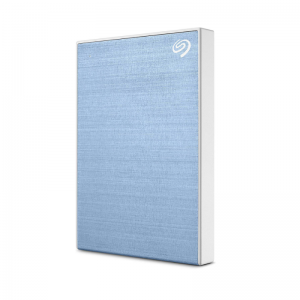 "Външен диск 1TB SEAGATE Backup Plus Slim , 2.5"", USB 3.0, Light Blue - STHN1000402"