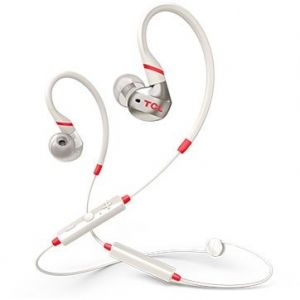 Безжични слушалки TCL ACTV100BT , In-ear Bluetooth Sport Headset, IPX4, Bluetooth 5.0, Crimson White