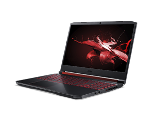 "Лаптоп Acer Nitro 5 AN515-54-72EG , Intel® Core™ i7-9750H (12M Cache, 2.60 GHz up to 4.50 GHz, 6 ядра), 15.6"" FullHD (1920x1080) IPS, NVIDIA GeForce RTX 2060 6GB GDDR6, 8GB DDR4, 512GB SSD M.2 PCIe, UEFI Shell, Obsidian Black - NH.Q96EX.00E"
