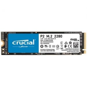 SSD 500GB CRUCIAL P2 (CT500P2SSD8), M.2 2280, PCIe NVMe