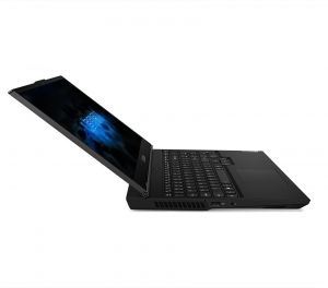 "Лаптоп Lenovo Legion 5 15IMH05 , Intel® Core™ i5-10300H (8M Cache, 2.50 GHz up to 4.50 GHz, 4 ядра), 15.6"" FullHD (1920x1080) 120Hz IPS, Nvidia GeForce GTX 1650 4GB GDDR6, 8GB DDR4, 256GB SSD M.2 PCIe, Backlit KBD, FreeDOS, Phantom Black - 82AU006DBM"