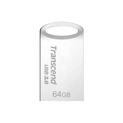 USB памет Transcend 64GB JetFlash 710 USB 3.0, read-write: up to 90MBs, 24MBs, Silver Plating