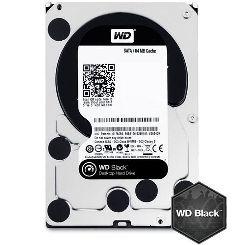 HDD 2TB WD Black 3.5