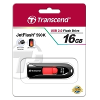 USB памет Transcend 16GB JetFlash 590 USB 2.0, Black