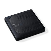 Външен диск 2TB WD MyPassport Wireless Pro, USB 3.0, Черен