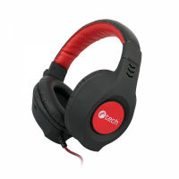 Геймърски слушалки C-TECH NEMESIS V2 GHS-14B, Gaming headset with upholstery, braided cable, leather bridge