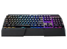 COUGAR ATTACK X3 SPEEDY Silver Cherry MX RGB Backlit Mechanical Gaming Keyboard, N-key rollover, Full key backlight-(RGB, 16.8 million colors), FPS/MMORPG/MOBA/RTS, On-board memory, COUGAR UIX™ System, Aluminum/Plastic,