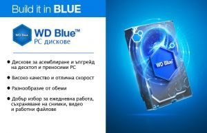 "HDD 500GB WD Blue 2.5"" SATAIII 8MB 7mm slim (2 years warranty)"